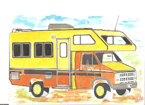 THE OLD RV - ART_FOR_U_99