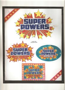 SUPER POWERS ART