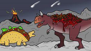 Tacosaurus & Chile con Carnotosaurus