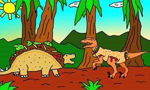 Tacosaurus & a Velociwraptor