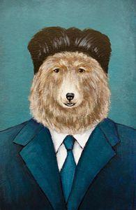 Bear Kim - Minyi's Illustrations