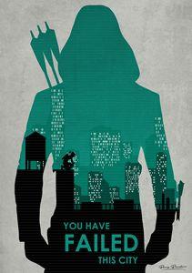 You have failed this city (Arrow)
