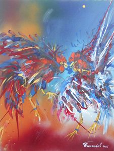 ROOSTERS FIGHT 1