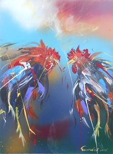 ROOSTERS FIGHT 3