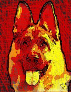 German Shepherd soul