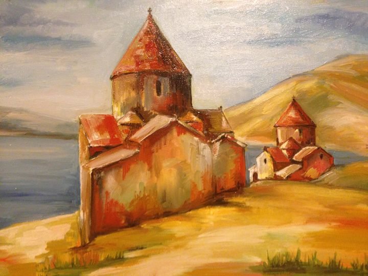 Axtamar Church - Sona Manoukian Art