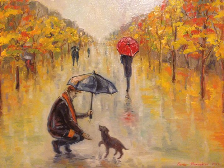 Finding Love - Sona Manoukian Art