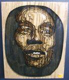Small 3D Bob Marley portrait