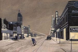 A Windsor Night - Dave Rheaume Artist