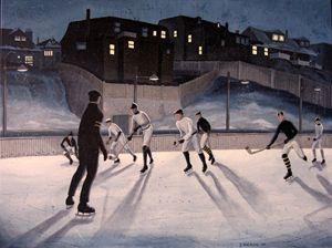 Hockey Christie Pits - Dave Rheaume Artist
