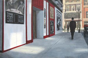Yonge and Shuter 1916 - Dave Rheaume Artist