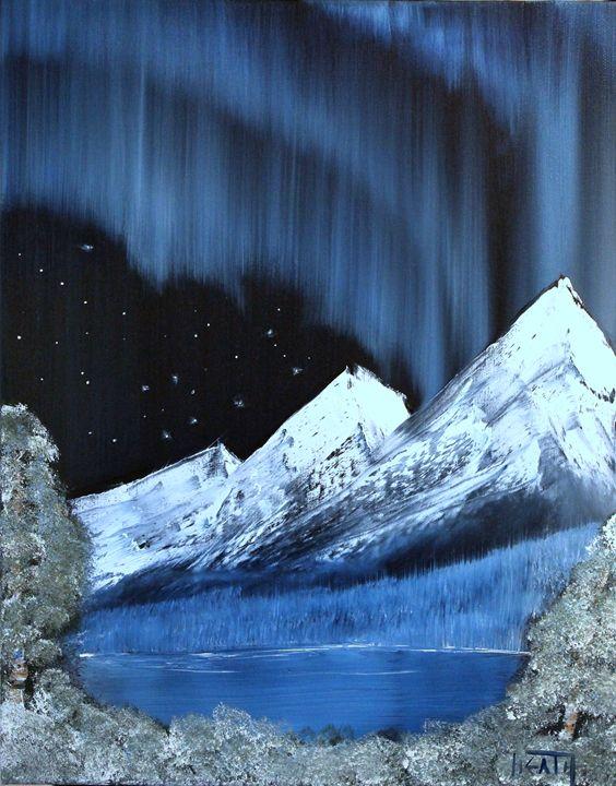 Starry Lights - Raven's Claw Fine Art