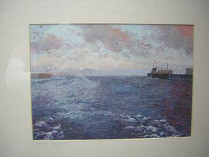 'Amble Harbour, Northumberland'
