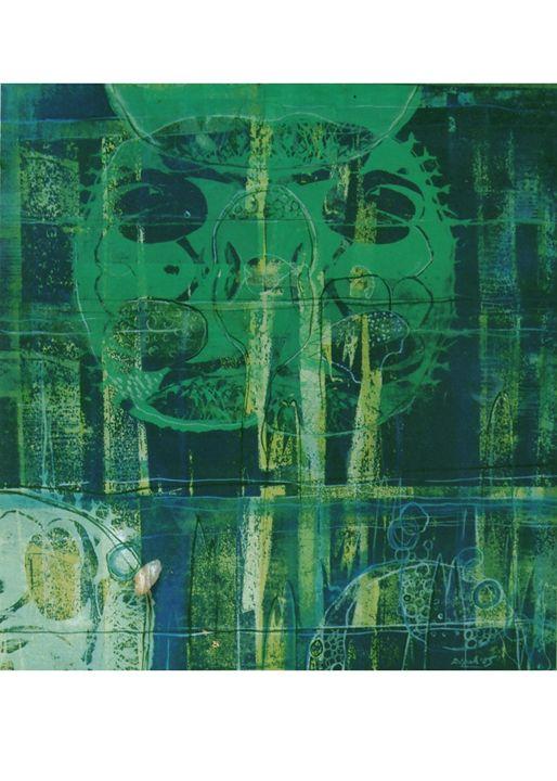 Eternity VIII - Paintings by Dipak Seal