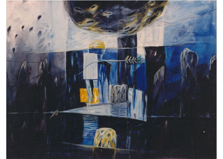Eternity I - Paintings by Dipak Seal