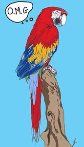 OMG parrot - artline
