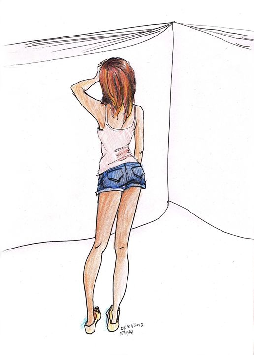 One Day At A Time - Overwhelmed - Karmaela by Michelle Zhang: Art | Fashion | Design