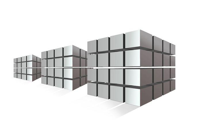 Cubes - Karmaela by Michelle Zhang: Art   Fashion   Design