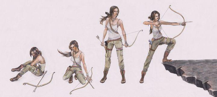 Tomb Raider - Karmaela by Michelle Zhang: Art   Fashion   Design