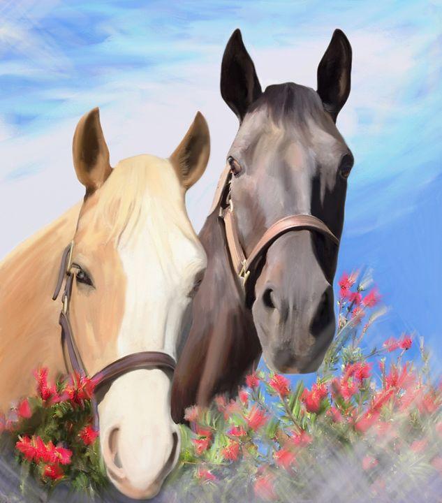 Miwok Horses - Julianne Ososke
