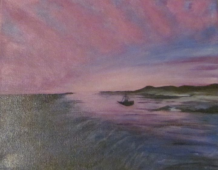 End of Day - Sue's Art
