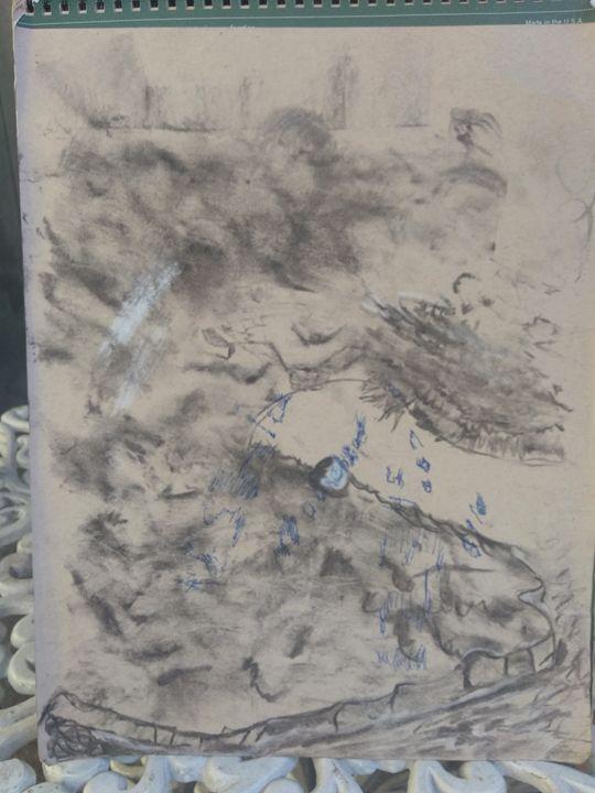 Abstract Parkinson's disease - Charles moorehead fine art