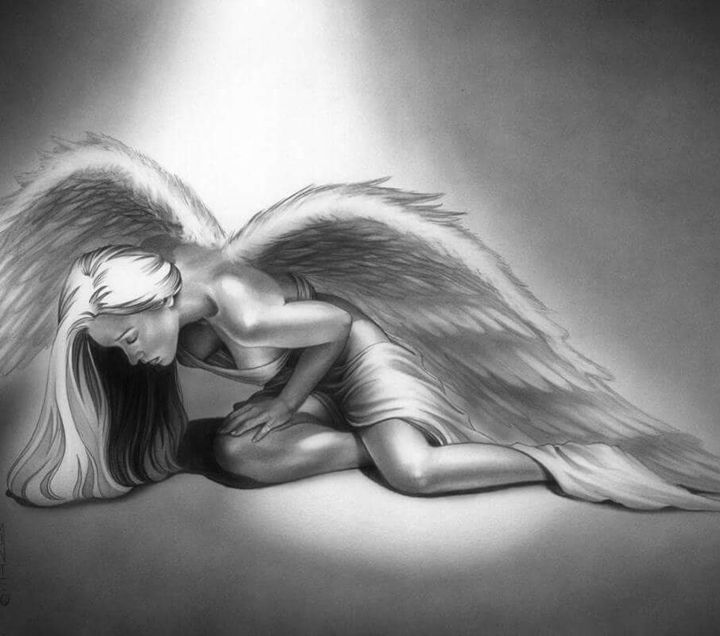Fallen angel - Charles moorehead fine art