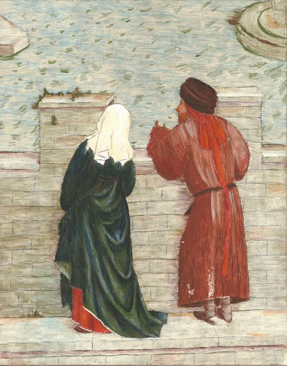 Couple Overlooking a Bridge - Astral Kepeire
