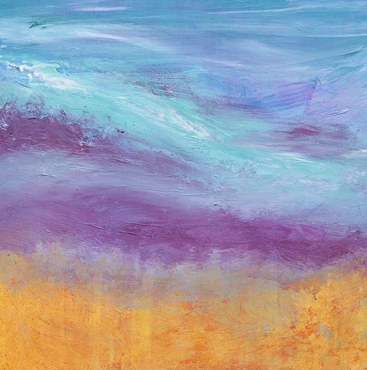 """""""Dreamy Sunset"""" - Art by Jess Hooks"""
