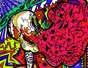 Screaming Skull - SugarBySway