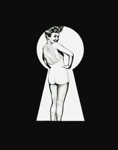 Busted, Betty Grable via Keyhole