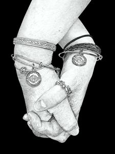 Friends Hand in Hand