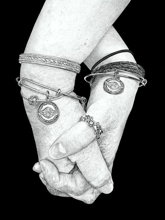 Friends Hand in Hand - NewmanArt