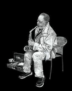 saxophone - NewmanArt