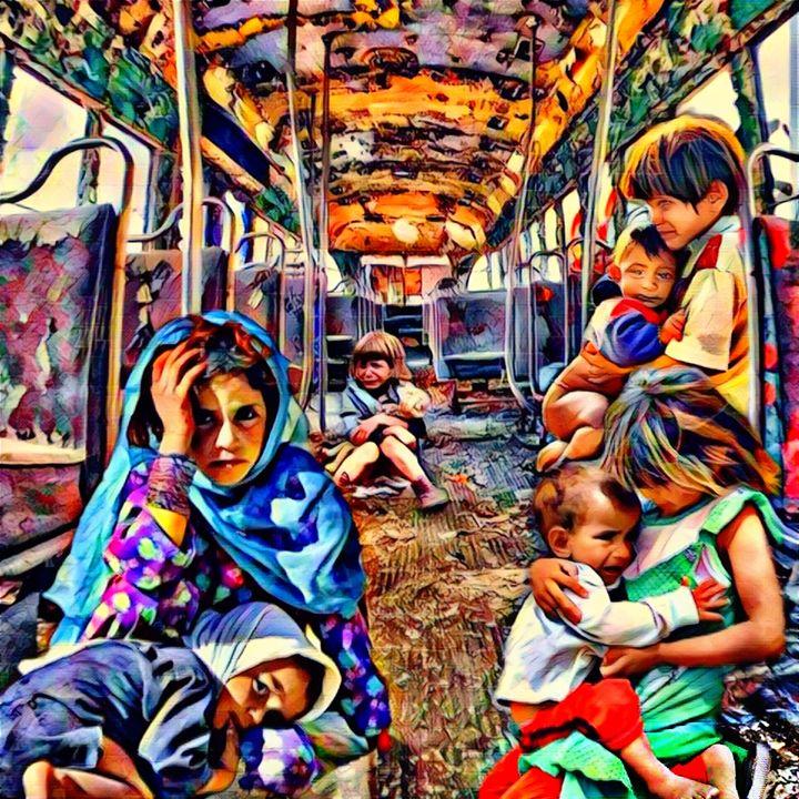 Bus to Nowhere - Painted Nebula