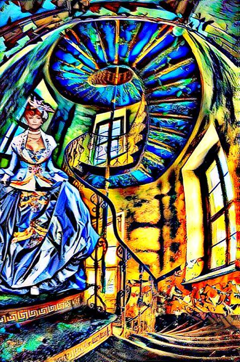 The Winding Stairs - Painted Nebula