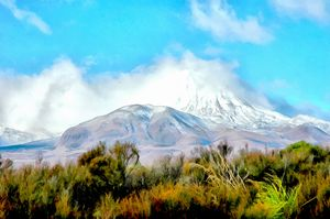Mount Ruapehu of LOTR fame