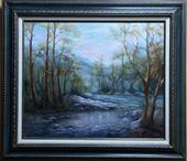 M. Wood Original Oil Paintings