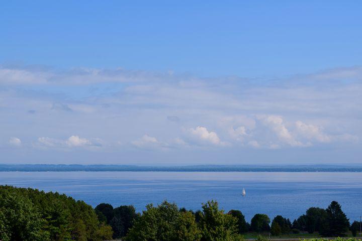 Shoreline Clouds - Thebert Photography