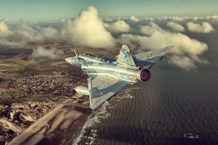 Mirage 2000 Heading Home - psdigital art
