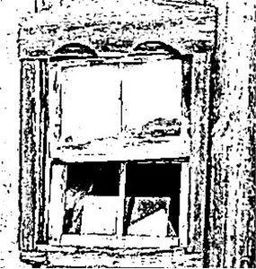 Broken Barn Window