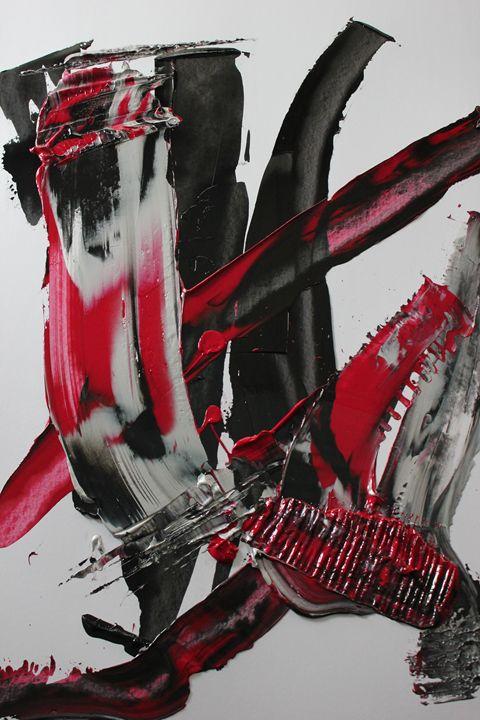 Crimson Craze - Cundiff Art