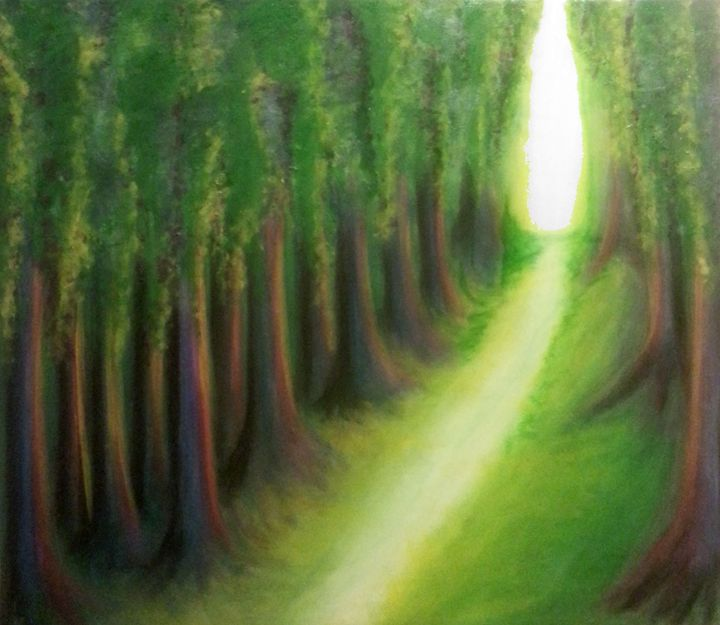 Enchanted forest - Artist Jamie Mossier