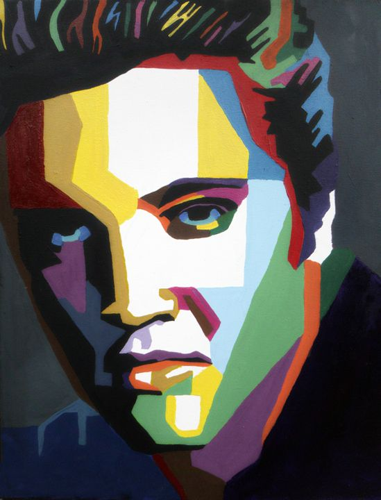 Elvis - Amber McNeel Art
