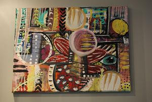 colorful abstract art by valv