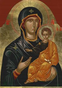 Virgin Mary with Jesus Christ