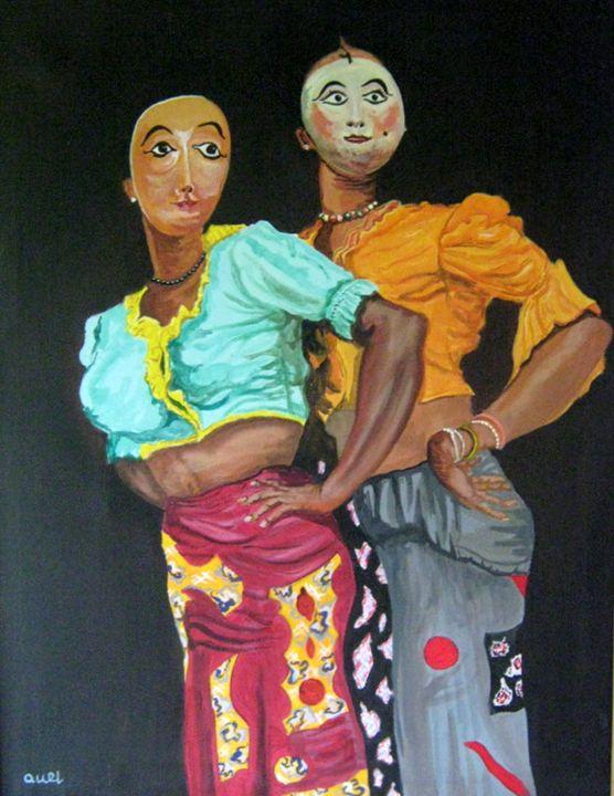 Masked Lady Dancers - Artscapes