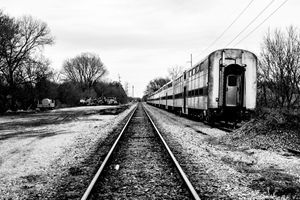 Abandoned Train Horicon 3