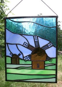 Windmill Suncatcher