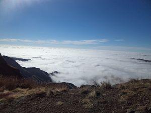 Mystical mountain tops